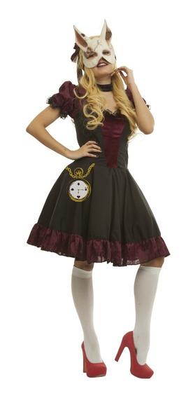 Disfraz Lolita Gothic Conejita Girl Halloween Sexy