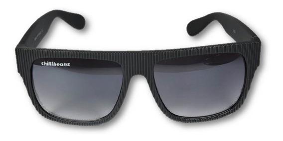Óculos Chilli Beans 400uv Armacao Cor Preto Brilhante