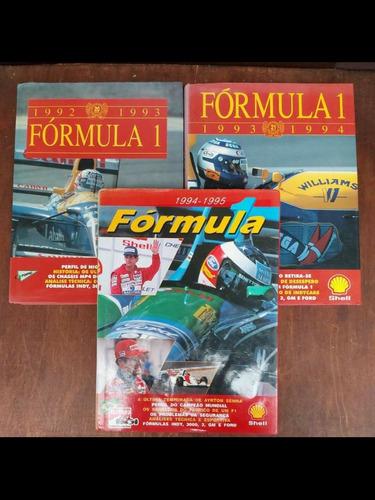 Imagem 1 de 5 de Lote Com 3 Anuários Formula 1