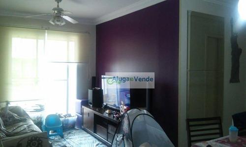 Apartamento Com 3 Dormitórios, 1 Suíte,  2 Banheiros, Lavabo, Varanda Gourmet, 82 M² E 2 Vagas De Garagem Por R$ 615.000 - Jardim Zaira - Guarulhos/sp - Ap0264