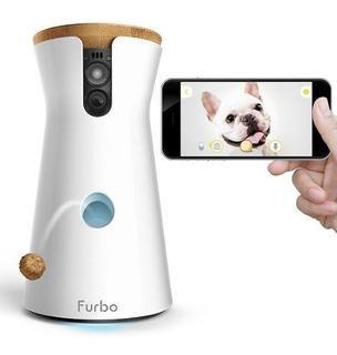 Cámara Perro Furbo Dispensador, Hd Wifi, Cam, Audio