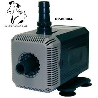 Bomba De Agua Para Acuarios Y Fuentes Sp8000a 2800lxh 4.5al