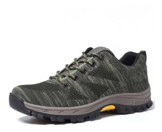 Zapatos De Seguridad Mujer Y Hombre + Plantilla Iso 20345
