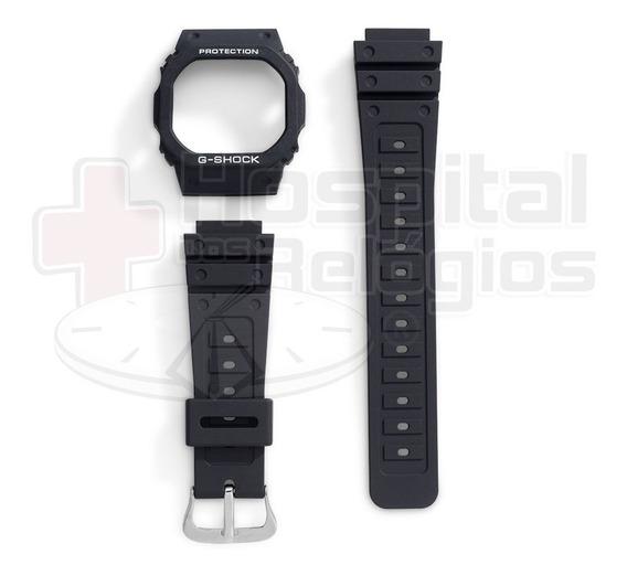 Kit Capa Pulseira Casio G-shock Dw-5600 Dw-5200 Dw-5000