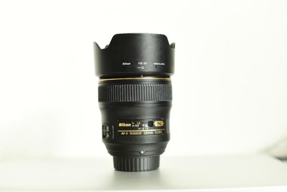 Nikon 35 Mm Af-s Nikkor 1.4 G