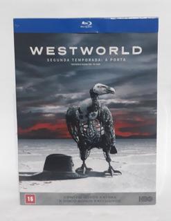 Box Bluray Westworld - 2° Temporada - Lacrado - 4 Discos