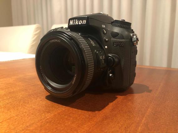 Nikon D7100 + 50mm F/1.8 Excelente Estado