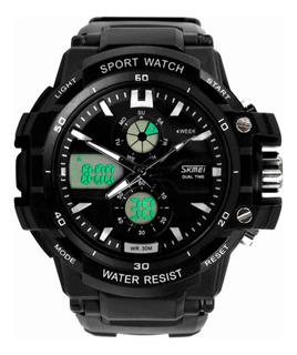 Reloj Dual Skmei Sumergible Quarzo Sport Alarma Cronometro