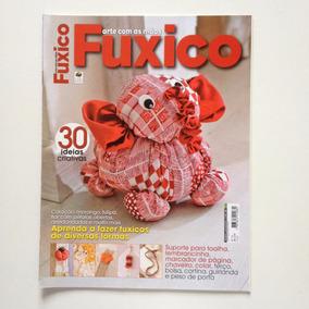 Revista Arte Com As Mãos Fuxico Chaveiro Colar Terço N°12