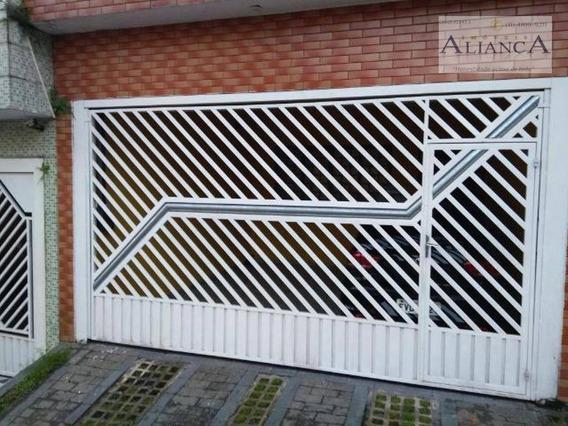 Sobrado Com 3 Dormitórios À Venda, 160 M² Por R$ 450.000 - Alves Dias - São Bernardo Do Campo/sp - So0493