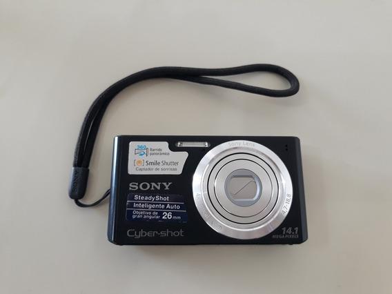 Câmera Digital Sony Cyber-shot 14.1mp + Acessórios- Top