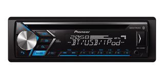 Estéreo para auto Pioneer DEH S4050BT negro