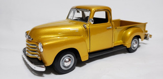 Miniatura Da Pick-up Chevrolet 1950 1:25