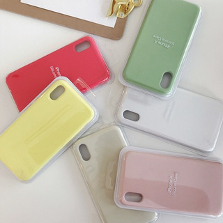 Forros Silicone Case Para iPhone X, Xr, Xs, Xs Max