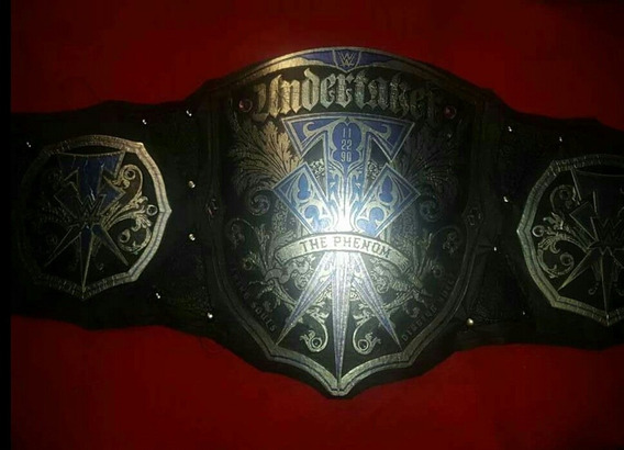 Cinturon Wwe Undertaker Legacy 2020