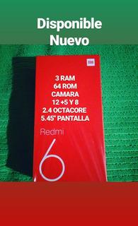 Xiaomi Redmi 6 Nuevo Con Regalos