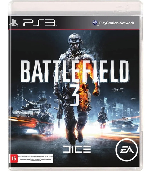 Battlefield 3 Bf3 Ps3 Midia Digital Psn Envio Rápido