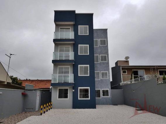Belíssimo Apartamento Com 02 Quartos No Cruzeiro, São José Dos Pinhais - Ap0221