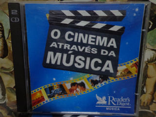 Cd Cinema Através Da Música - 5 Cds