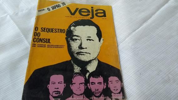 Revista Veja Nº 80 Terrorismo Sequestro Cônsul Esp Japão 70