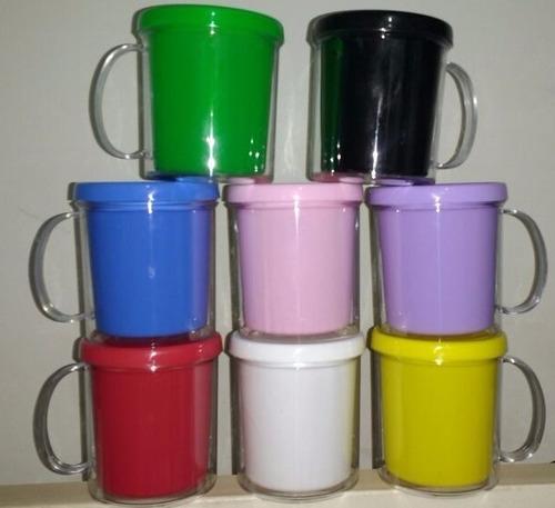 Tazas  Plastico Y Acrilico Para Personalizar Souvenir