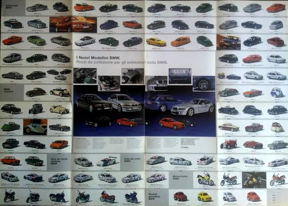 Poster B M W Miniaturas 1998 (81cm X 57cm)
