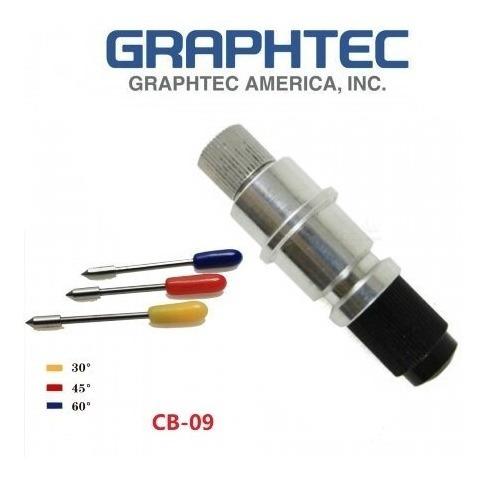 Graphtec Cb09 Suporte + 10 Lâminas Compatível Silhoutte
