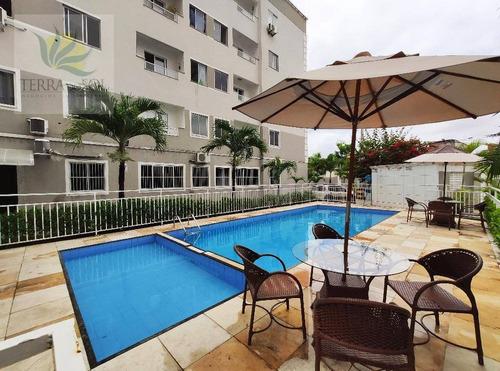 Apartamento Com 1 Dormitório À Venda, 38 M² Por R$ 175.000,00 - Parque Manibura - Fortaleza/ce - Ap0880