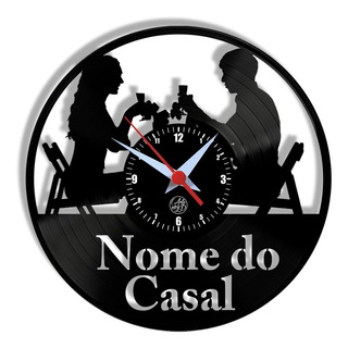 Casal Jantando Personalizado Vinil Disco Presente Arte No Lp
