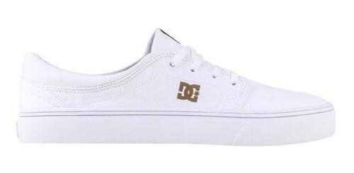 Tênis Branco Feminino Dc Shoes Trase Original Frete Grátis!!