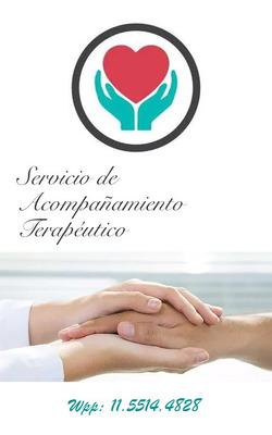 Acompañante Terapéutica Servicio A Domicilio Caba - Gba