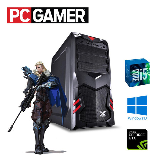 Cpu Gamer I5 3ª Gen 8gb Hd1tb + Ssd 120 Win10 Gtx 1050 2gb