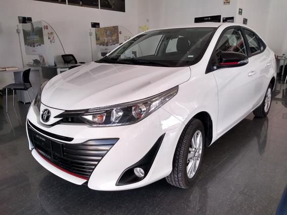 Toyota Yaris Sd S 2019 Color Blanco Automático