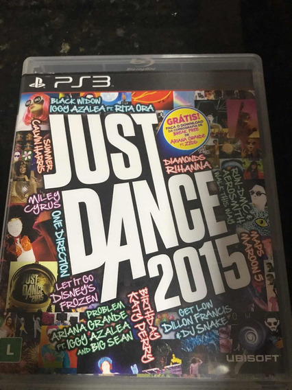 Jogo Ps3 Just Dance 2015 Mídia Física Original