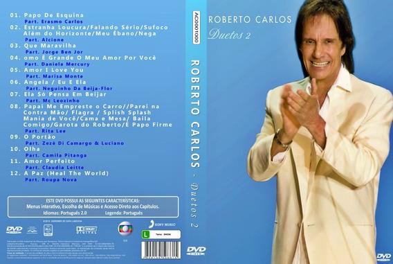 Dvd Roberto Carlos - Duetos 2 - Original