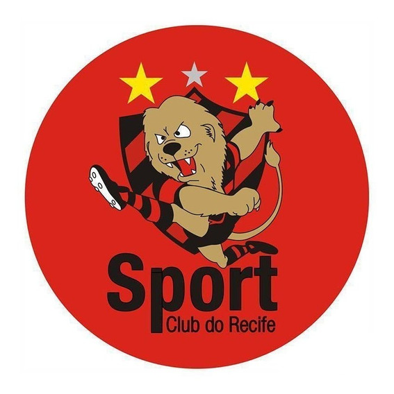 Mouse Pad Sport Recife Mascote Redondo