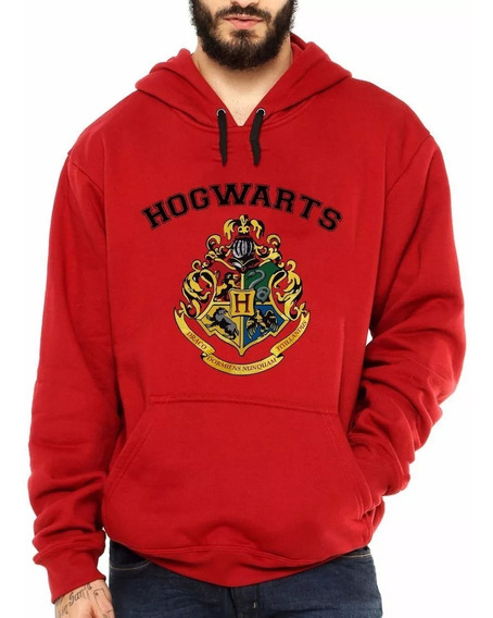 Blusa Moletom Harry Potter Hogwarts School Bruxo