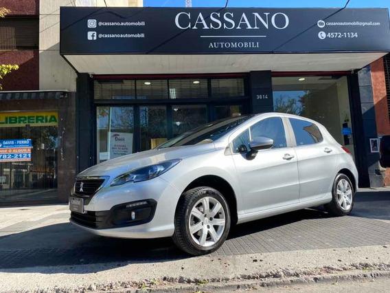 Peugeot 308 1.6 Allure 2018 Gris Plata Cassano Automobili