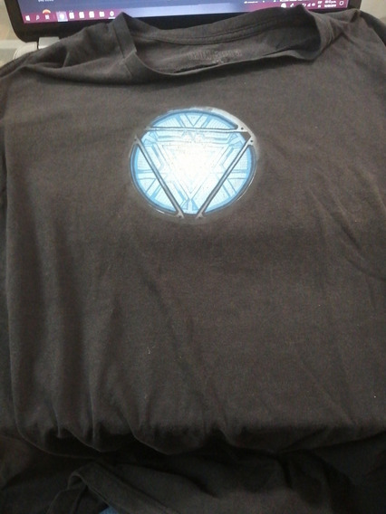 Playera Marvel Iron Man Arc Reactor Original