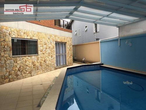 Sobrado Com 3 Dormitórios À Venda, 504 M² Por R$ 2.450.000,20 - Limão (zona Norte) - São Paulo/sp - So0767