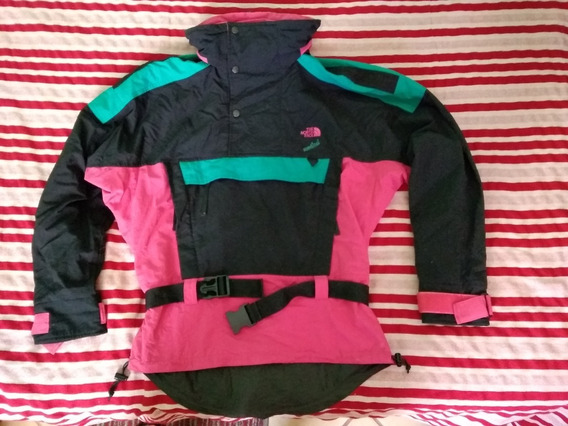 Chamarra The North Face Vertical 90´s Vintage Talla Mediana