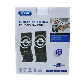 Mini Caixas Som Auto Falante Computador Notebook Kp-7024