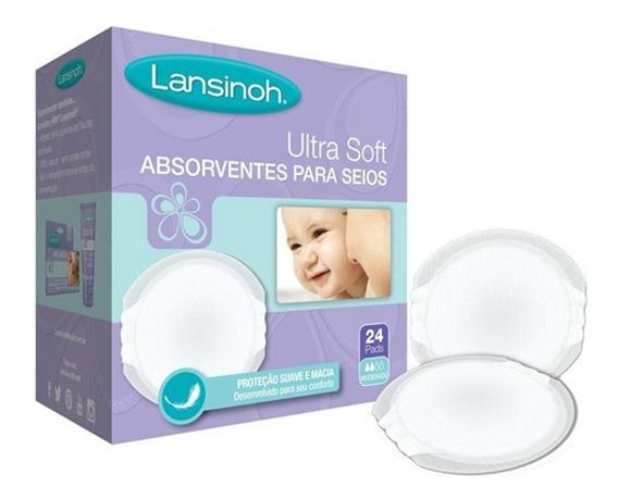 Absorventes Seios Lansinoh Ultra Soft C/24 - Novo E Original