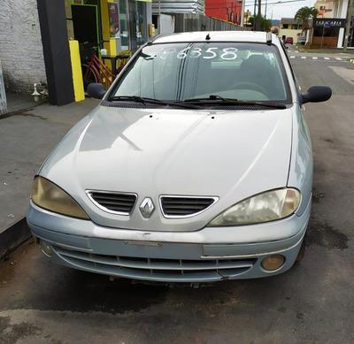 Sucata Renault Megane 1.6 16v Gasolina 2003 Retirada Peças