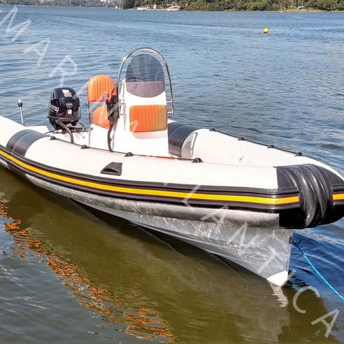 Bote Fx600 Ano2019 01x Tohatsu 50hp,ano2013 Marina Atlantica