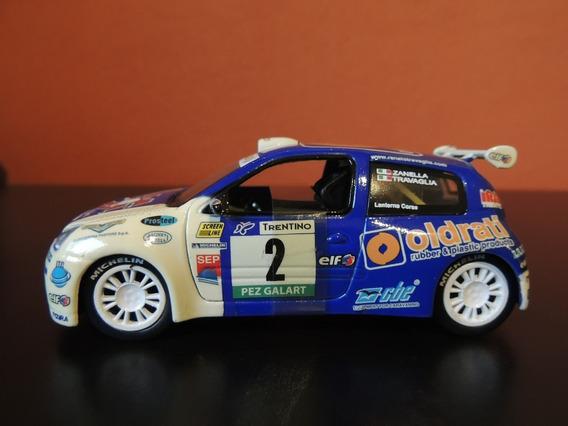 Miniatura Clio Corrida Azul 1:32 Saico