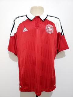 Camisa Oficial Seleção Dinamarca 2012 Home adidas Tam Gg Xl