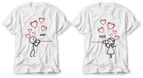 Camisetas Personalizadas Dia Dos Namorados Sublimação A3