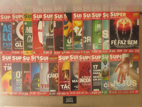 Lote Kit Revistas Super 76 Volumes Interessante