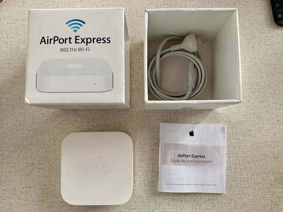 Airport Express Base Station 802.11n Mod. A1392 Impecable
